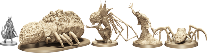 Scale comparison of the monsters of Byrgenwerth.