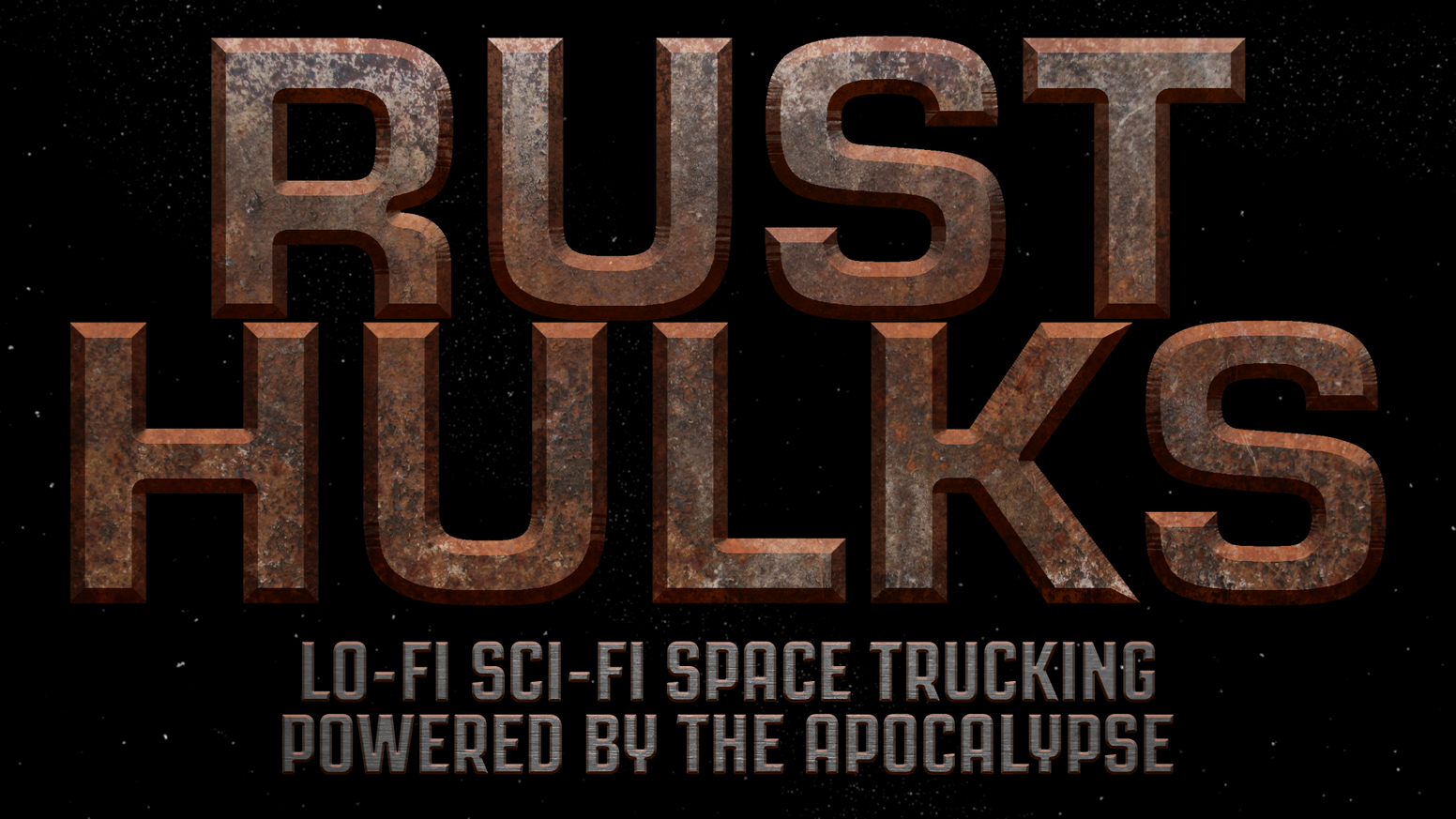 A lo-fi sci-fi space trucking tabletop RPG, Powered by the Apocalypse.
