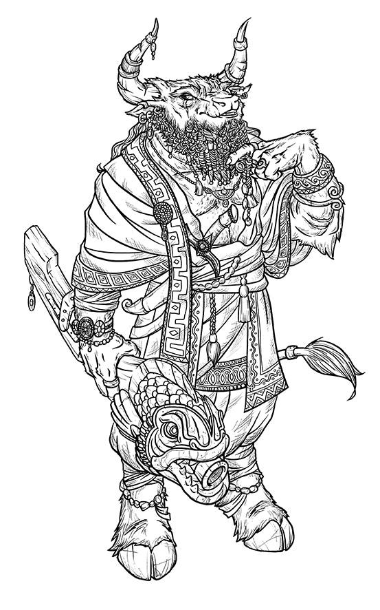 Minotauren Molok