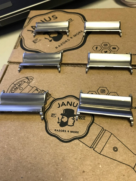 The doors of the Janus Razor during prototyping - 2