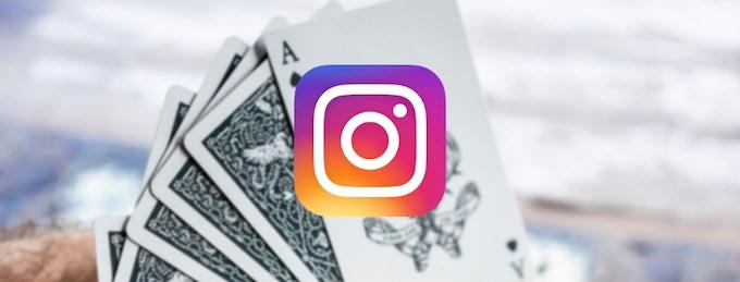 Follow us on Instagram! (@jtplayingcards)
