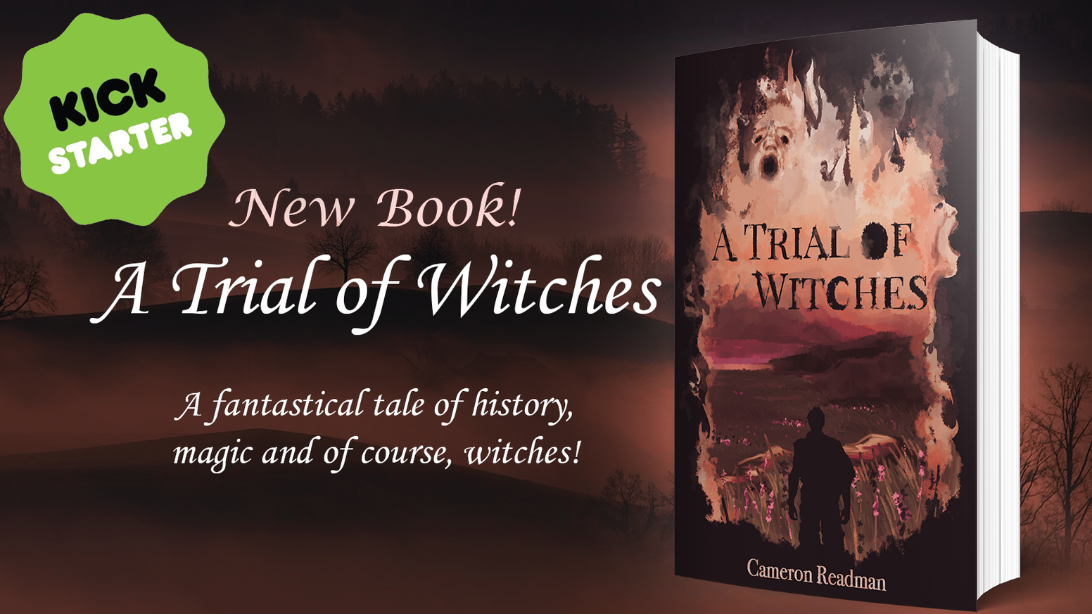 A new novel from the creators of the wizarding school experience; Bothwell School of Witchcraft