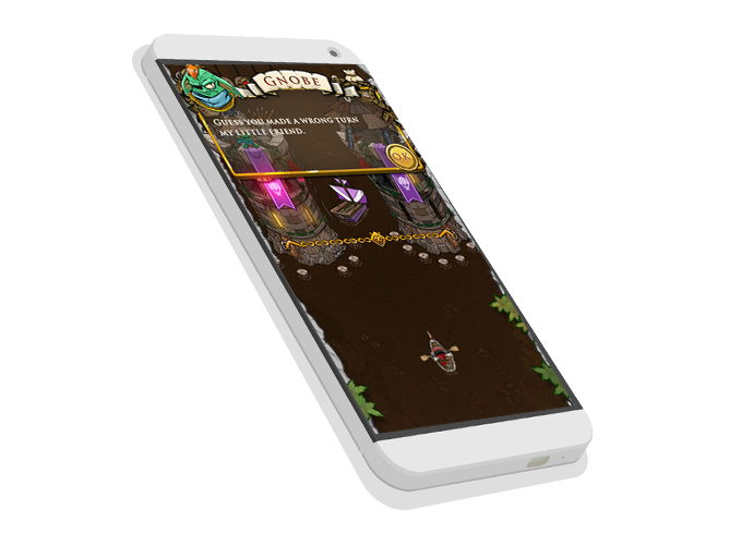 Chocohunters will run on Android and iOS