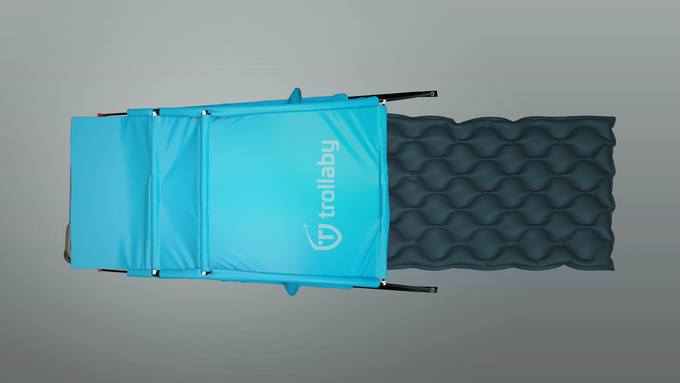 Simply nap in comfort - Trollaby with air mattress