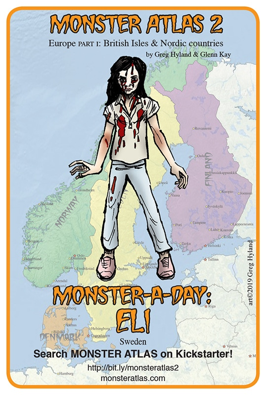 THE MONSTER ATLAS by Greg Hyland — Kickstarter