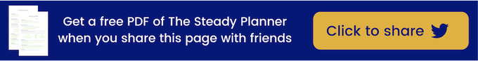 Share to get a free Steady Planner PDF