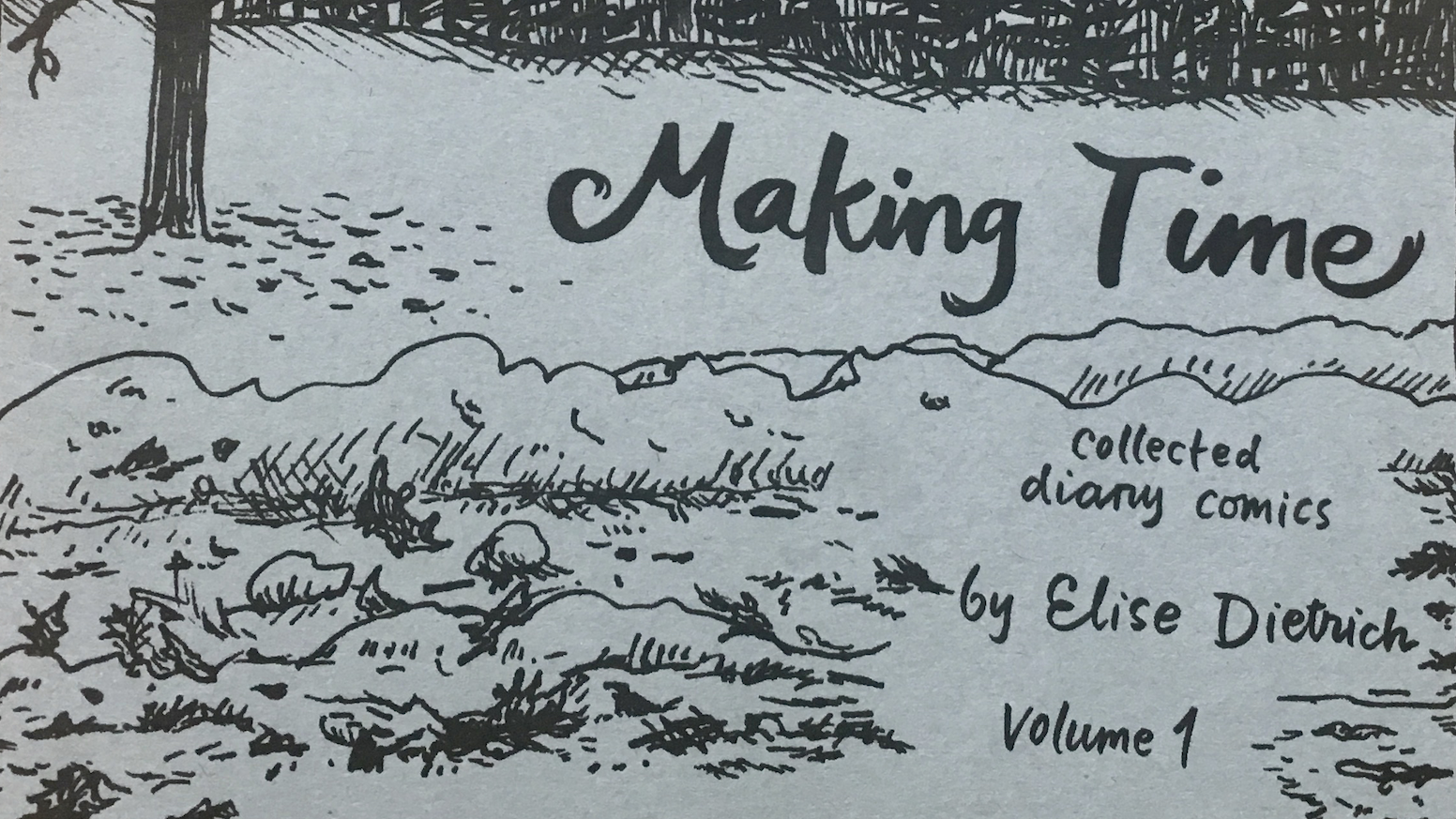 Pre-order physical copies of my two latest diary minicomics