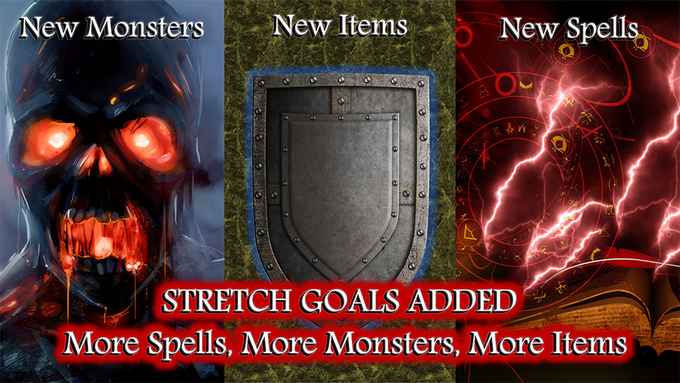 Even More New Monsters, New Items, and New Spells