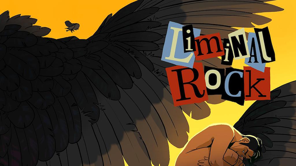 Liminal Rock Graphic Novel project video thumbnail