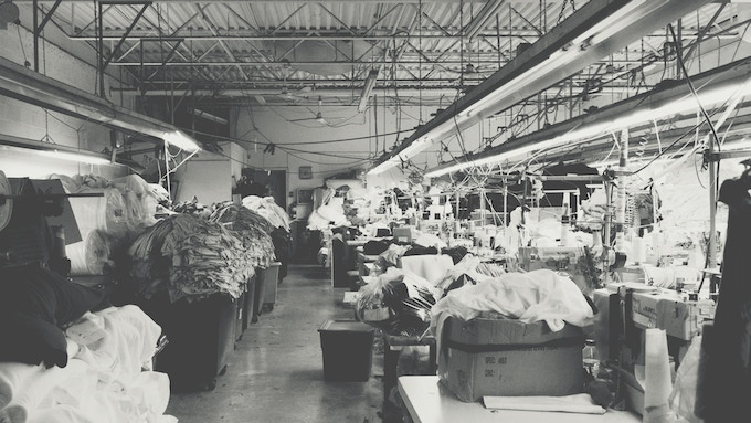 My mother's factory -- proudly Canadian 🍁