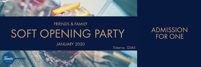 Ticket to Friends & Family Soft Opening Party at the Foundry Cookery School