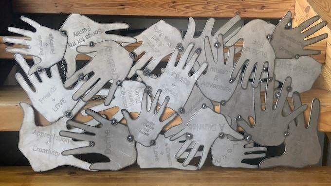 "16"" x 34"" Steel Art Panel"