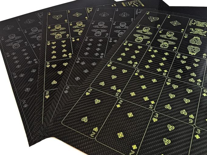 Printed Carbon Fiber sheets