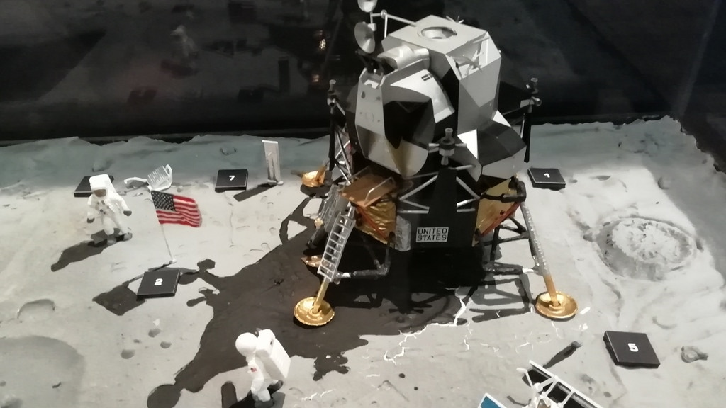 An installation to celebrate the first moon landing project video thumbnail