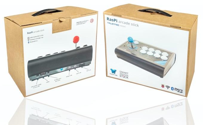 RasPi arcade stick | The customizable smart arcade stick by TALENTEC
