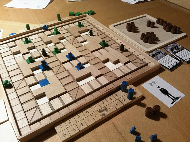 First release of game mechanics and rules (2014)