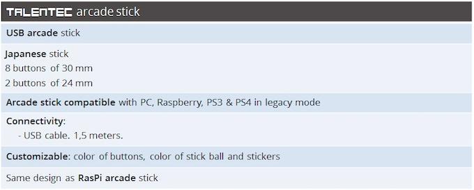 RasPi arcade stick   The customizable smart arcade stick by