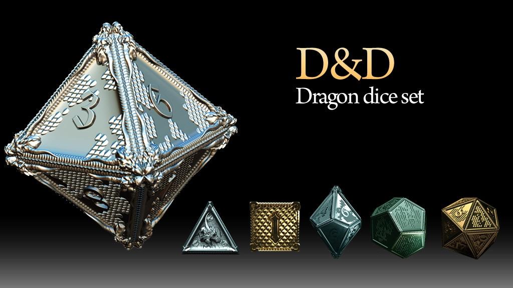 D&D Dragon dice project video thumbnail