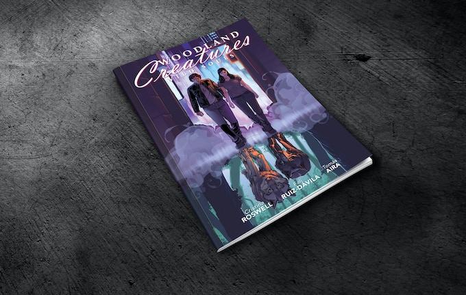 Issue 1 mock-up (standard cover) / Prototipo del número 1 (portada estándar)