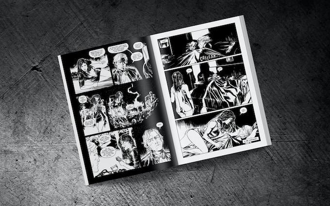 Issue#1 Inside (mock-up) / Parte 1. Interior (prototipo)