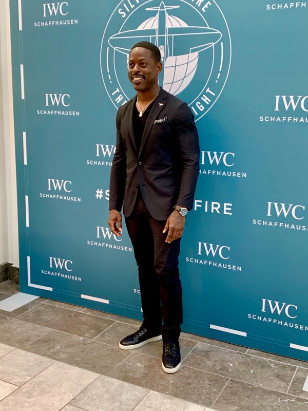 Emmy Best Actor Winner Sterling K Brown (Star of This Is Us) in the Black FlexTech Suit