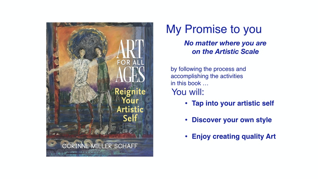 Art For All Ages, Reignite Your Artistic Self project video thumbnail