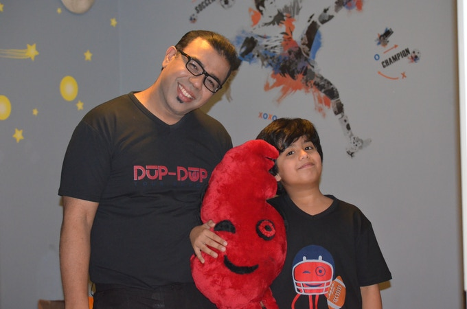 Founder & 9 Years Old Co-Founder