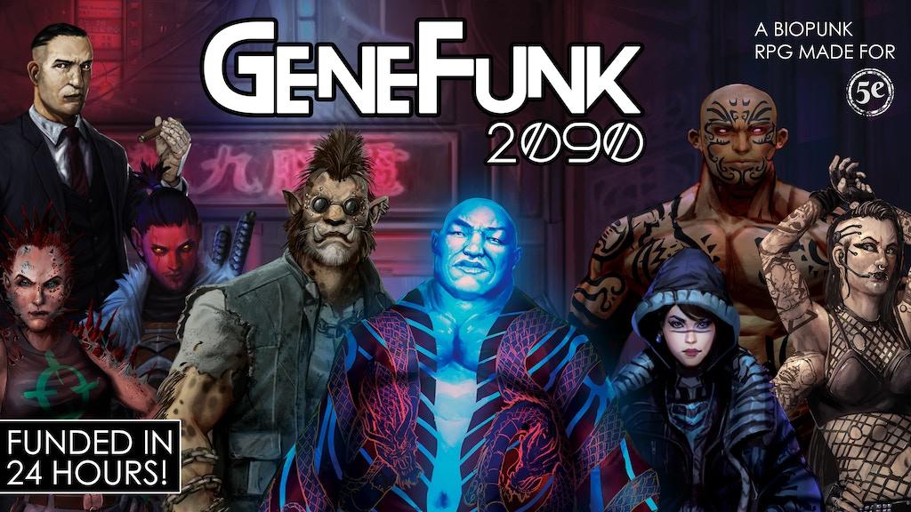 GeneFunk 2090 project video thumbnail