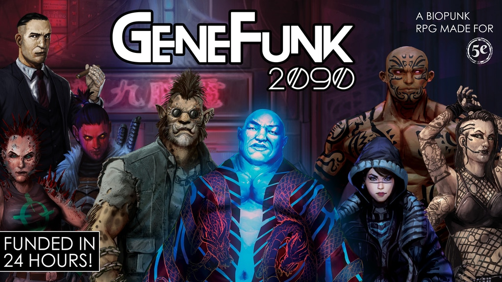 GeneFunk 2090 project video thumbnail
