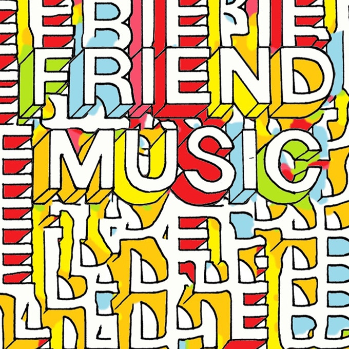 """Friend Music"" Album Cover"