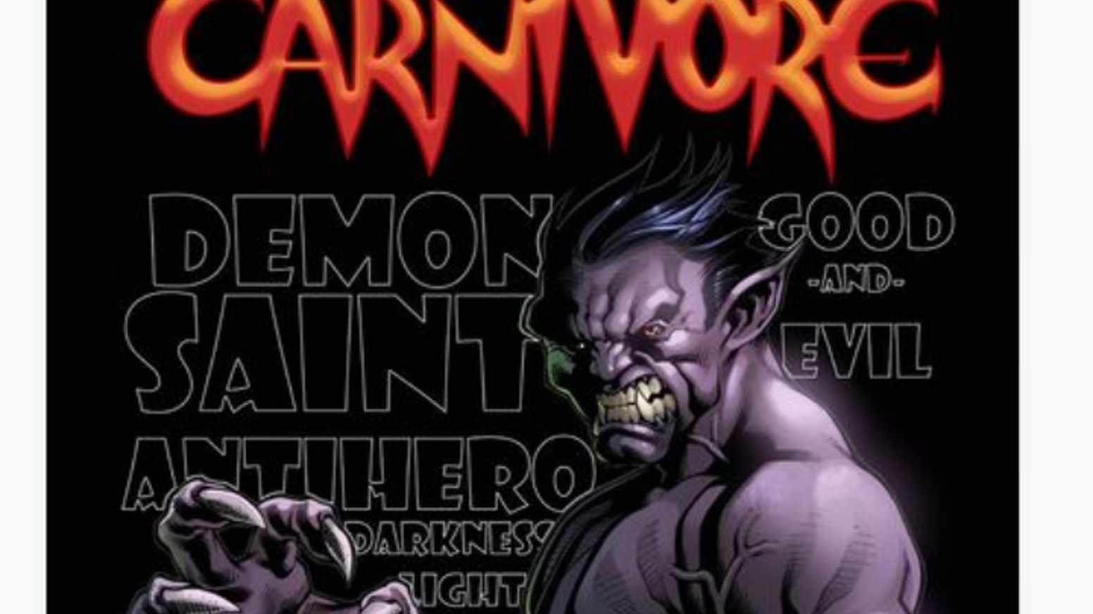 Carnivore #1 presented by MDV Comics by Dwayne Welch