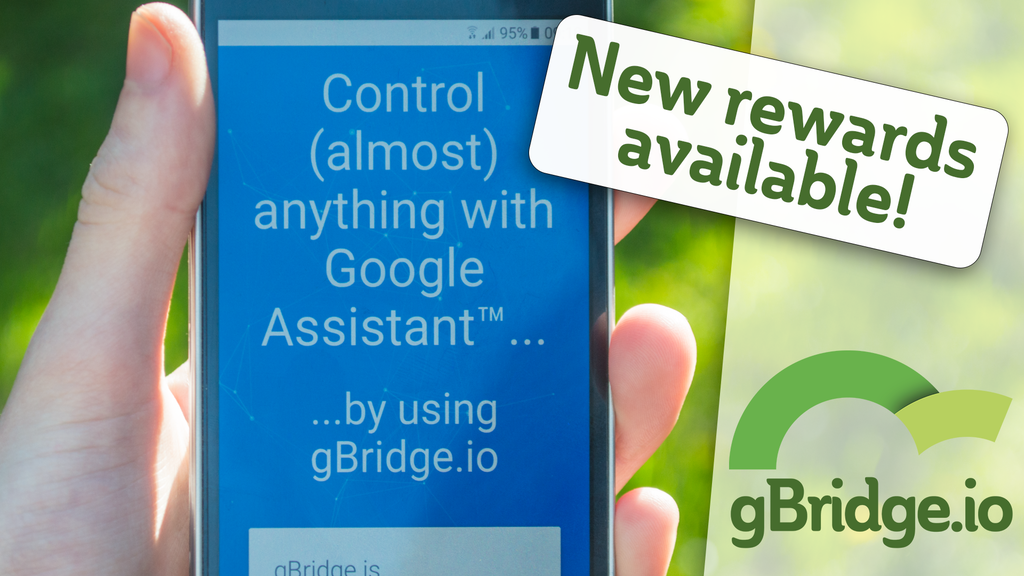 gBridge.io: Control anything with voice commands project video thumbnail