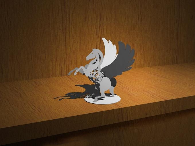$100 - Build your own metal Pegasus