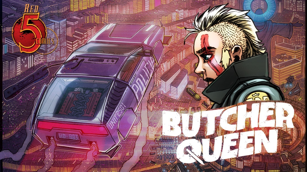 BUTCHER QUEEN - A Sci-Fi/Horror Comic Series project video thumbnail