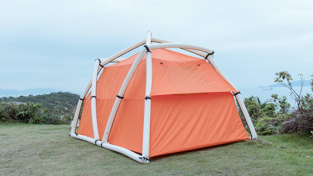 TentTube, Revolutionary Inflatable Tent, Easy Setup! project video thumbnail