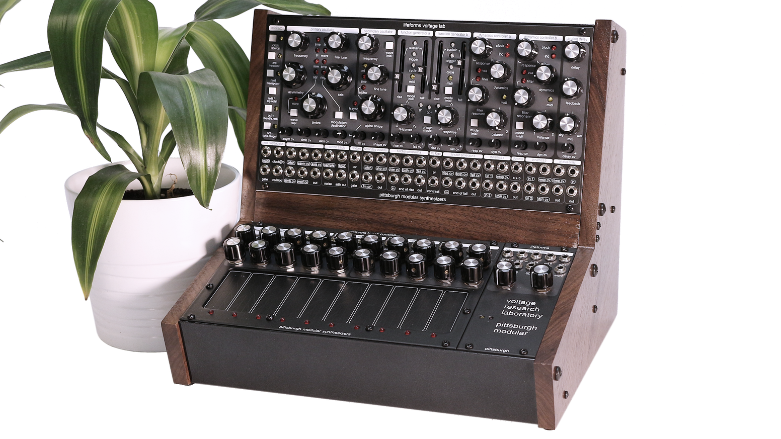 voltage research laboratory organic modular synthesizer by pittsburgh modular synthesizers. Black Bedroom Furniture Sets. Home Design Ideas