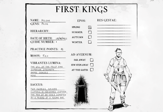 Character Sheet (Front)