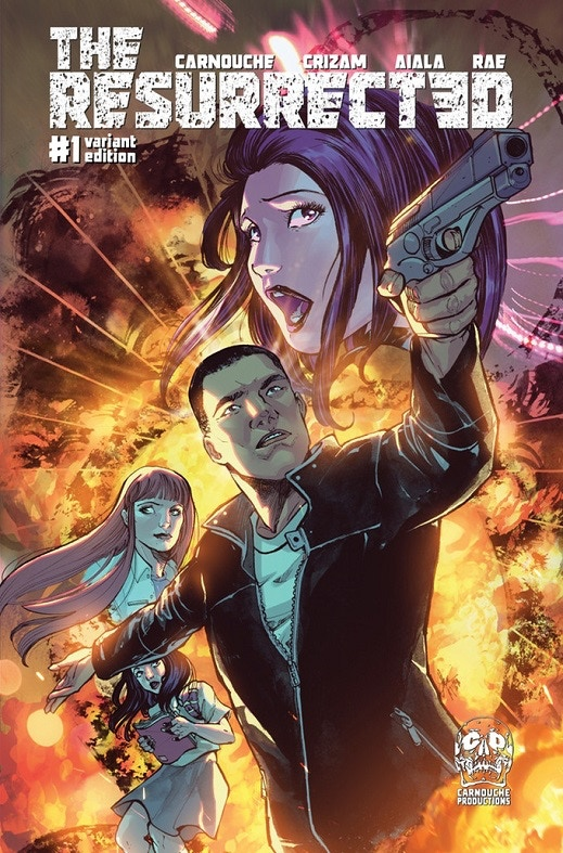Issue One Standard Cover by Ariela Kristantina and Bryan Valenza