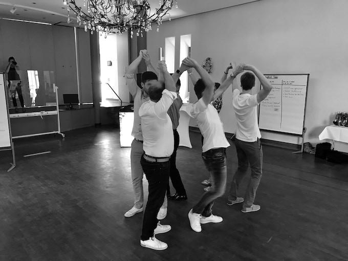 Let's make our participants dance!