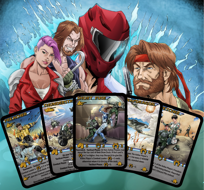 VENOM Assault Reprint, plus expansion: Villains & Valor