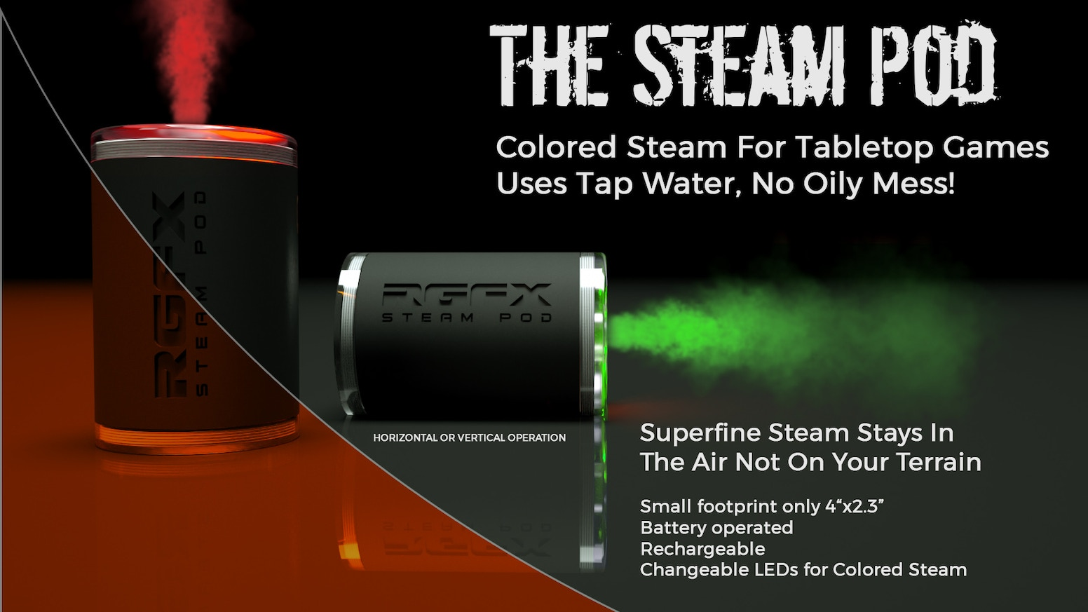Battery operated Steam! With Smoking Volcanoes, Steaming Geyser, Lightning Clouds, Tornadoes, Electric Lightning Tower, Electric Portal