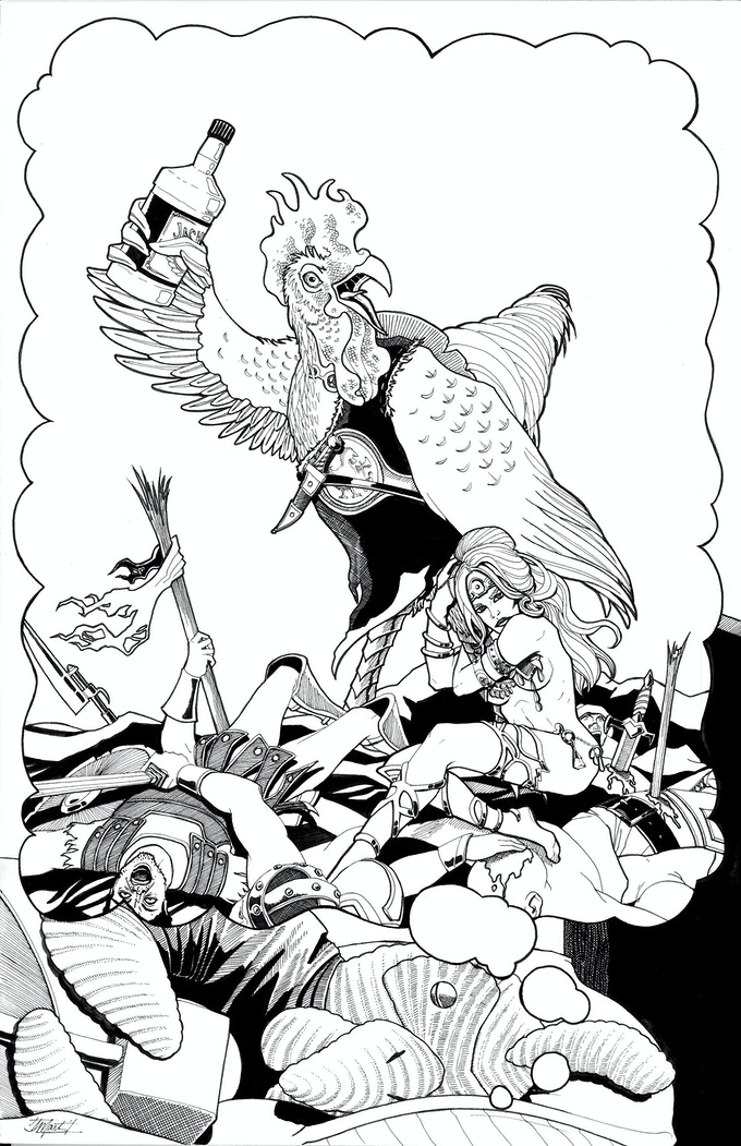 INKS FOR ALTERNATE COVER A BY INDI MARTIN