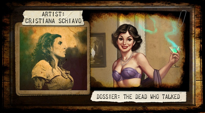 Cristiana Schiavo works as an illustrator and storyboard artist for a variety of Italian and international productions. She also has experience as a video game designer, cover designer and painter.