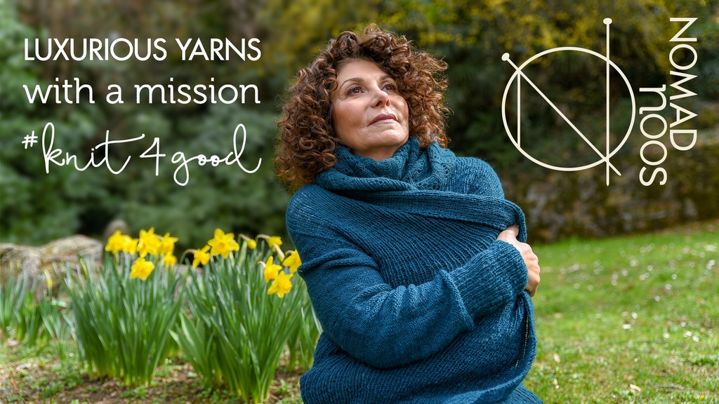 LUXURIOUS YARNS WITH A MISSION by Nomadnoos project video thumbnail