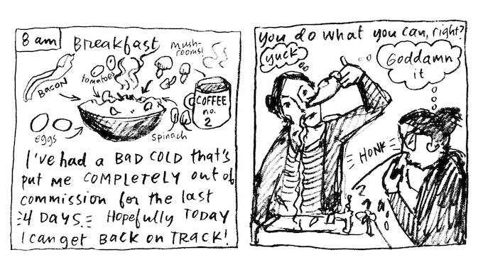 These are only the first three hours of Hourly Comic Day... don't you want to see what happens next?