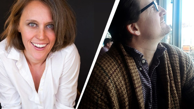 The husband & wife team! Sara Farrington & Reid Farrington - click here for an interview!