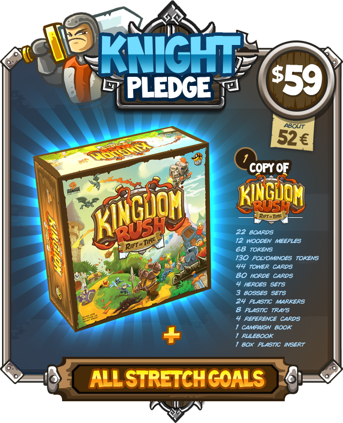 Kingdom Rush: Rift In Time by Lucky Duck Games — Kickstarter