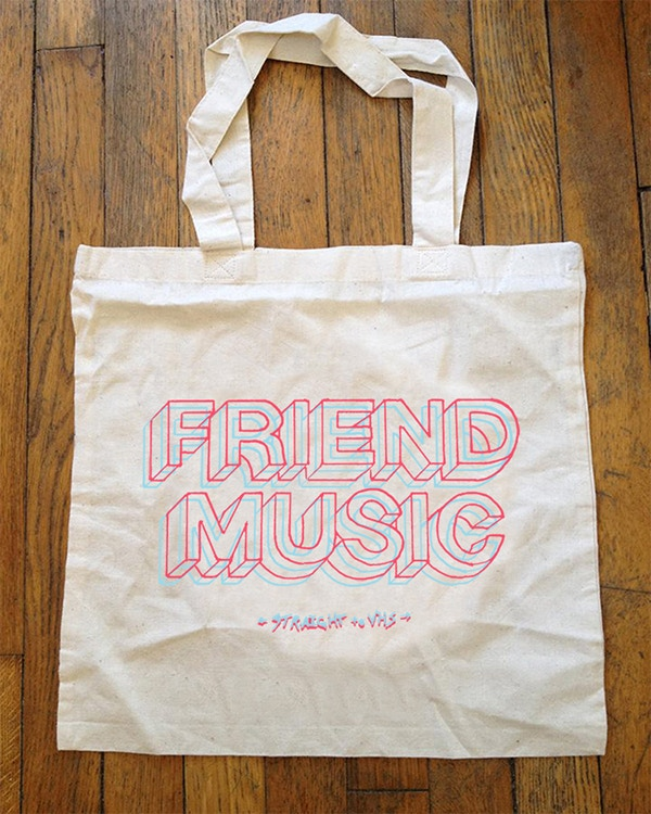 """Friend Music"" Tote Bag (sample)"