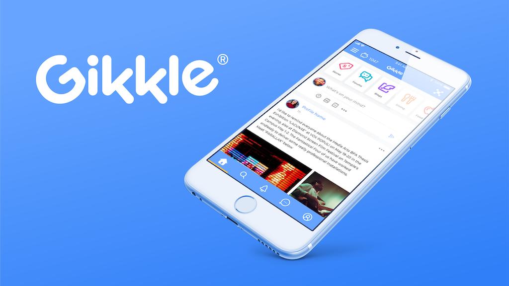 Project image for Gikkle - Social Media that Works for You (Canceled)