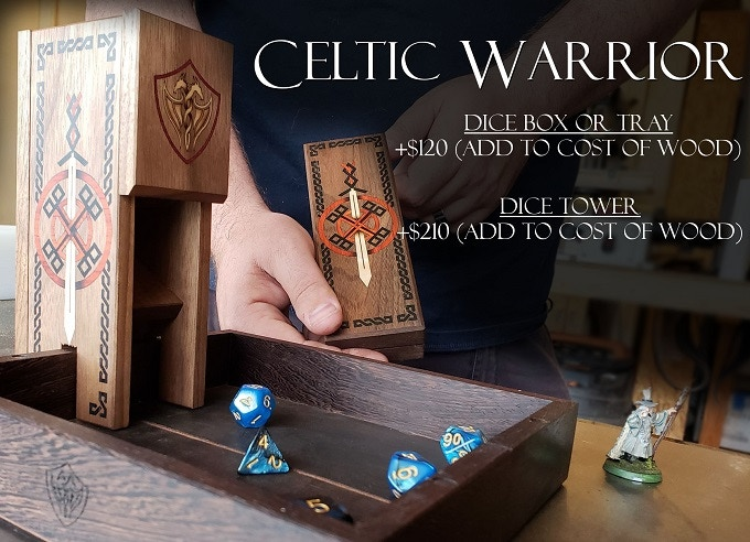 Celtic Warrior Inlay